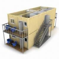 Wholesale Villa, Made of Modified Containers, Can Be Quickly Built-up, Used as Offices from china suppliers