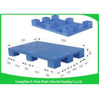 Wholesale LightWeight Nestable Plastic Pallets Single Face Nine Feet 100% Recycled Material from china suppliers