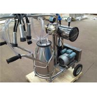 Wholesale Aluminum Alloy Vacuum Pump Type Single Cow Milking Machine For Goat / Sheep from china suppliers