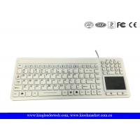 Wholesale Unfoldable IP68 Waterproof Silicone Keyboard with Mouse Touchpad and Full Keys from china suppliers
