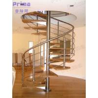 Wholesale Indoor spiral staircase designed for small spaces from china suppliers