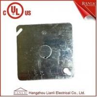 Wholesale Electrical Square Conduit Box Cover UL Listed File Number E349123 With Knockout from china suppliers
