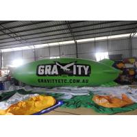 Wholesale 8m Green Inflatable Blimp Airship / Inflatable Helium Balloon from china suppliers