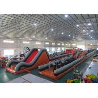 Wholesale Inflatable Obstacle Challenges Inflatable Off-Road Car Obstacle Course from china suppliers