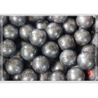 China High Wear Resistant Casting Steel Ball , High Chrome Grinding Media Balls on sale