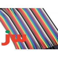 Wholesale 40 Pin Flexible Flat Ribbon Cable Colorful , 1.27 Mm 2mm Pitch Ribbon Cable from china suppliers