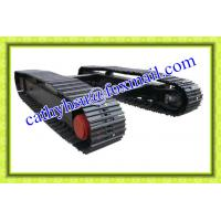 Wholesale factory directly offered 1-100ton t steel crawler undercarriage crawler chassis steel track undercarriage from china suppliers
