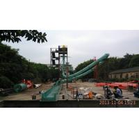 Wholesale High Speed Tube Fiberglass Spiral Water Slide for Water Amusement Park Equipment from china suppliers