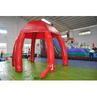 Wholesale Huge Inflatable Advertising Event Tent / Inflatable Air Dome Tent in Red from china suppliers