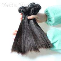 Wholesale Short Double Drawn Funmi Virgin Hair With Silky Straight Tangle Free from china suppliers