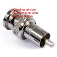 Wholesale Coaxial Adapter Coaxial Adaptor BNC Male Plug to RCA Male Plug For CATV / BNCM.RCAM.02 from china suppliers