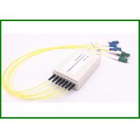Buy cheap OEM 6CH CWDM mux in smaller plasti box with LC/UPC-LC/APC connector from wholesalers