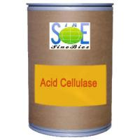 Wholesale Acid Cellulase Enzyme Feed Grade Powder from Trichoderma Reesei Strain SINOzym-ACE3FE from china suppliers