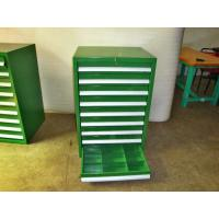 Wholesale Industrial Tool Chests And Cabinets With 3 - 15 Drawers , Green from china suppliers
