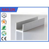 Wholesale Building Materials Aluminium C Channel Silver Anodised 35 MM Width 3.5 MM Thick from china suppliers