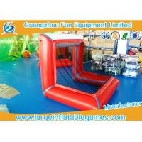 Buy cheap Factory Directly inflatable water polo goal air sealed football goal inflatable soccer goal from wholesalers