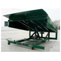 Wholesale Powder Coated Surface Loading Dock Leveler 5001kg - 10000 kg Capacity To Move Goods from china suppliers