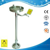 Wholesale SH711BS-Red SUS304 eye wash stand Erect eye wash made of SUS304 meets ANSI from china suppliers