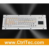 Wholesale metal kiosk keyboard with touchpad from china suppliers
