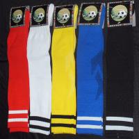 Wholesale Elastic Multi Colors Double Stripes Football Socks Sport Tube Sock For Youth from china suppliers