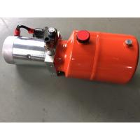 Quality Orange 6L Steel Tank DC Compact Hydraulic Power Unit for Dump Trailer for sale