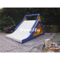 Wholesale 0.9MM Thickness PVC Tarpaulin Sealed Inflatable Water Slide from china suppliers
