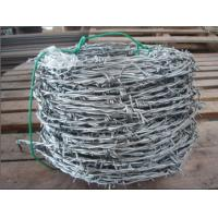 Wholesale Corrosion Resistance Galvanized Barbed Wire For Penitentiaries / Railway Stations from china suppliers