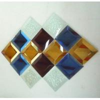 Wholesale spell mirror decorative mosaic  colorful glass mosaic from china suppliers