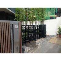 Wholesale Retractable Automatic Collapsible Gate Trackless For Residential Area from china suppliers