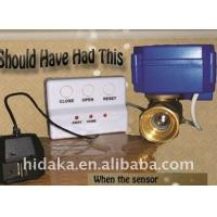 Buy cheap wire electronic Water leak detector automatic water shut off valve with warning machine wa from wholesalers