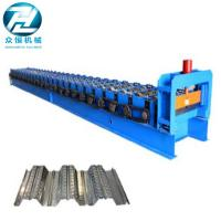 Wholesale 0.7-1.5 Thickness Roof Floor Deck Steel Roll Forming Machine For Construction from china suppliers