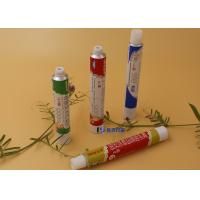 Wholesale Conual Piercer Cap Collapsible Tube, Recyclable Soft Aluminum Squeezy Tube from china suppliers