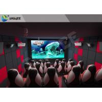 Wholesale Genuine Leather + PU Small 5D Cinema Theatre Mobile Chair 5d Cinema Equipment from china suppliers