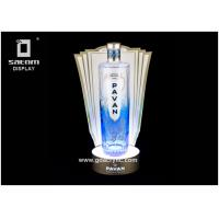 Wholesale Bottle Glorifier For Window Show Led Bottle Display Wind-Shape Cut Free Design from china suppliers