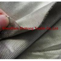 Wholesale Non-Toxic Electromagnetic-shielding silver-plated diamond lattice fabric from china suppliers