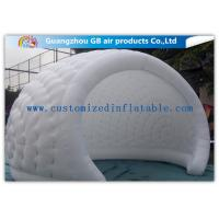 Wholesale Mini Size White Inflatable Tent Camping Trip Inflatable Igloo Pop Up Dome Tent from china suppliers