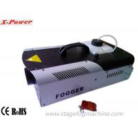 Wholesale 1500W LED Halloween Fog Machines With 8*3W 3 In1 RGB LEDs DMX512 Control  X-024D from china suppliers