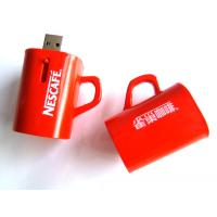 Wholesale Custom Usb Sticks 64MB, 256MB, 4GB Red Coffee Cup Flash Drive Transformer for Windows ME from china suppliers