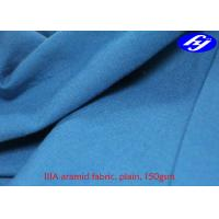 China 150gsm Plain Nomex IIIA Aramid Fiber Fabric For Fire Fighting Coverall on sale