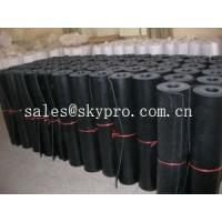 Wholesale Commercial grade 1mm / 2mm rubber sheet rolls 3800mm wide maximum from china suppliers