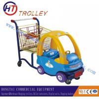 Wholesale Colourful Metal Steel Children Shopping Carts For Supermarket 20L from china suppliers
