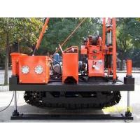 Wholesale 30 - 150 M Boring Depth Drill Rig Machine 15kn Windlass Hoisting Capacity 0.5m Stroke from china suppliers