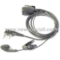 Wholesale 1 ear-hook microphone for 2 way radio from china suppliers