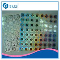 Wholesale 2D / 3D Custom Hologram Stickers , Glossy Laser Labels For Packaging from china suppliers
