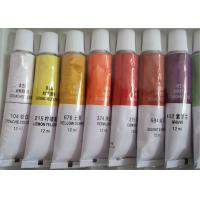 Quality Colorful Printing Empty Paint Tubes , Collapsible Aluminum Empty Oil Paint Tubes for sale