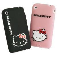 Wholesale Pink Hello Kitty Silicone Cellphone Case , Custom Silicone Phone Cover from china suppliers