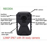 Wholesale Black 12h Police Body Worn Camera Hidden 140 Degree Video Audio Recorder from china suppliers