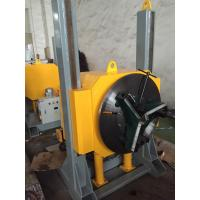 Wholesale Hydraulic Lifting Pipe Turning Welding Rotary Positioner / Automatic Welding Positioner With Welding Chuck from china suppliers