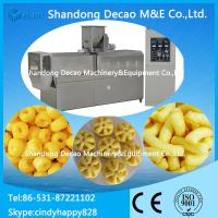 Wholesale Stainless steel small scale puffed snacks food extrusion machine from china suppliers
