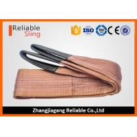 Wholesale 6000 KG Polyester Webbing Lifting Slings Safety Factor 7-1 With Reinforced Loop Ends from china suppliers